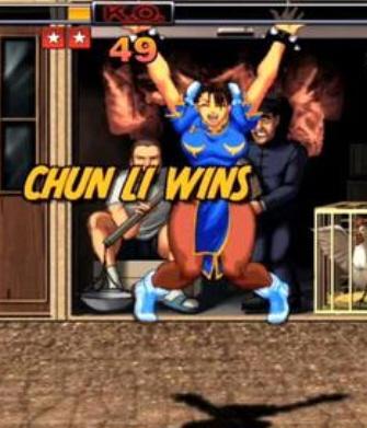 Chun Li Wins